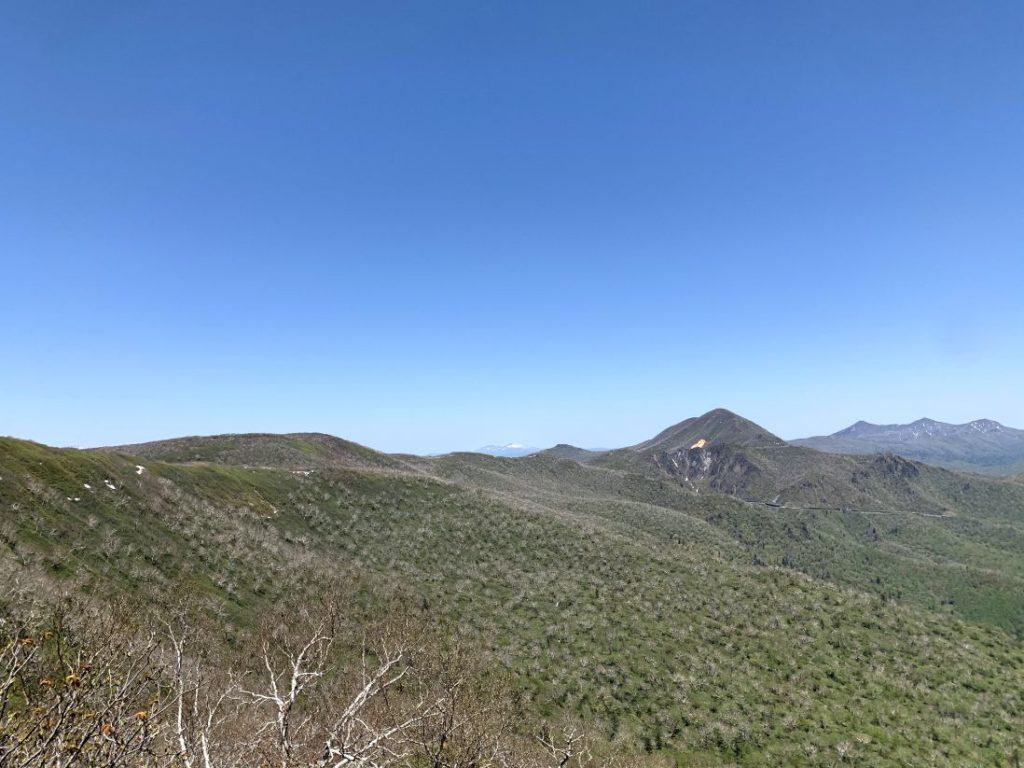 来馬岳からの稜線歩き