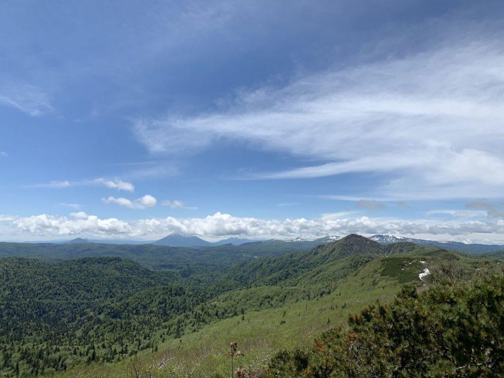 空沼岳山頂からの眺め