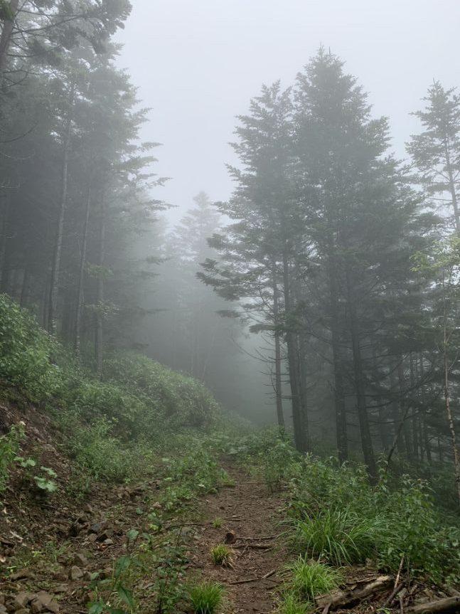 道南の岩部岳